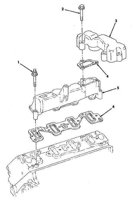 Figure 12. Air Intake Manifolds (6.5L Turbo)