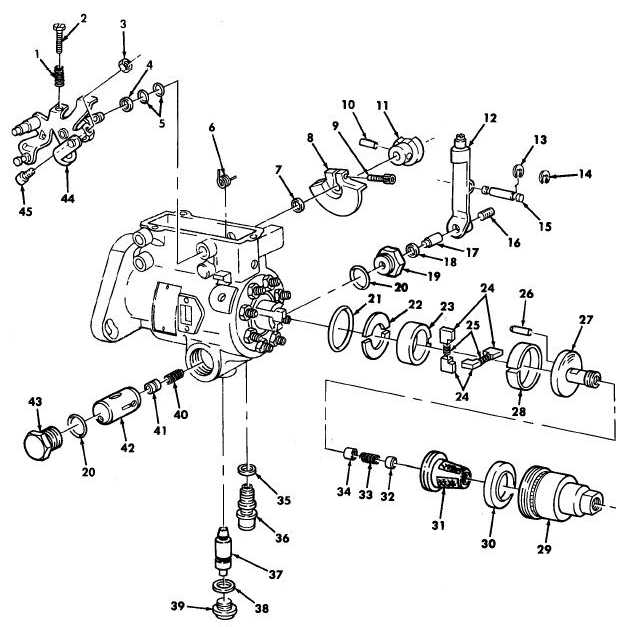 Figure 21. Fuel Injection Pump Throttle Shaft, Regulator