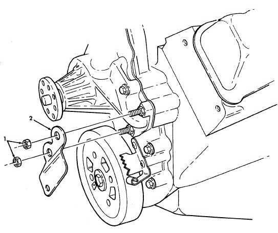 Figure 33. Power Steering Pump Support Bracket