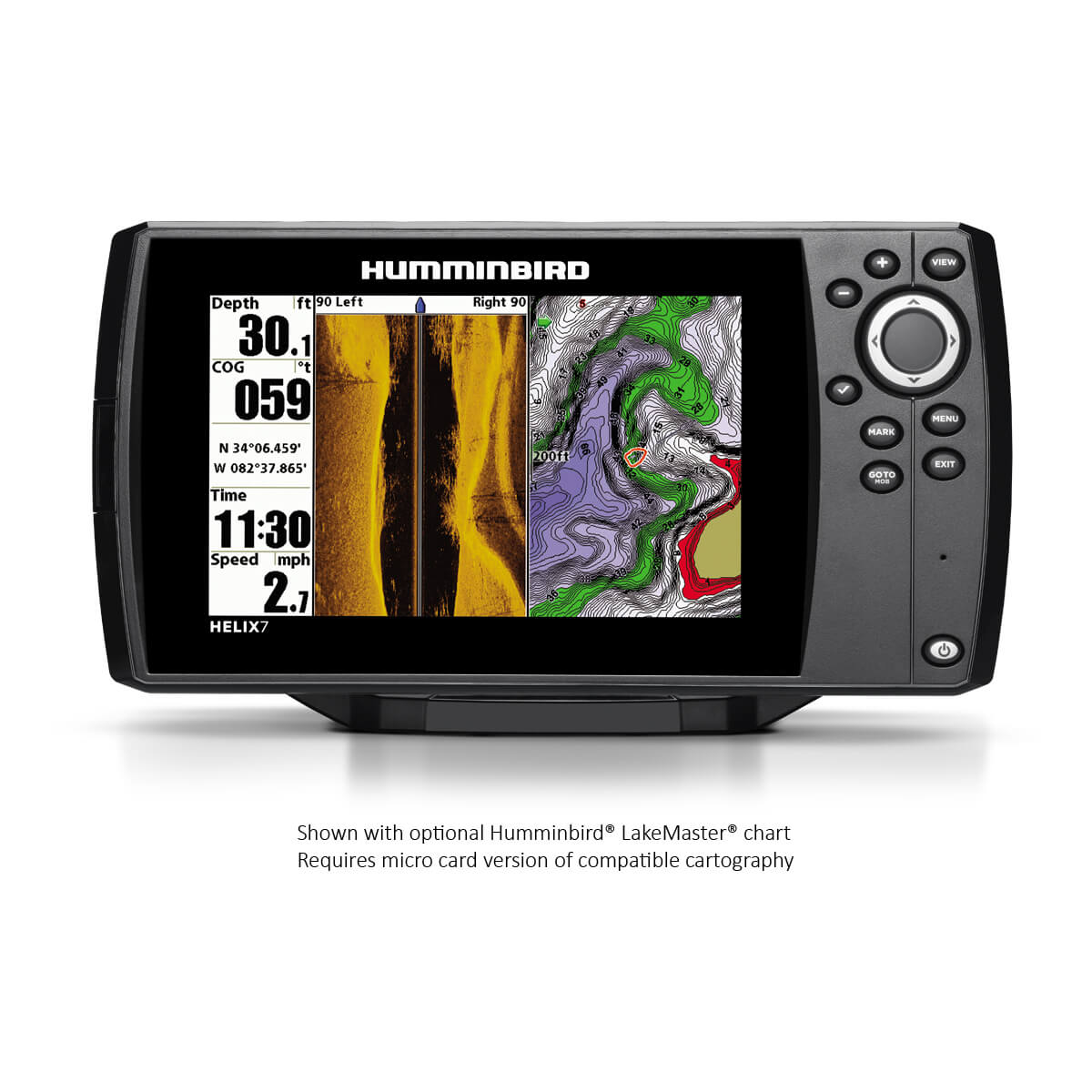 hight resolution of helix 7 si gps