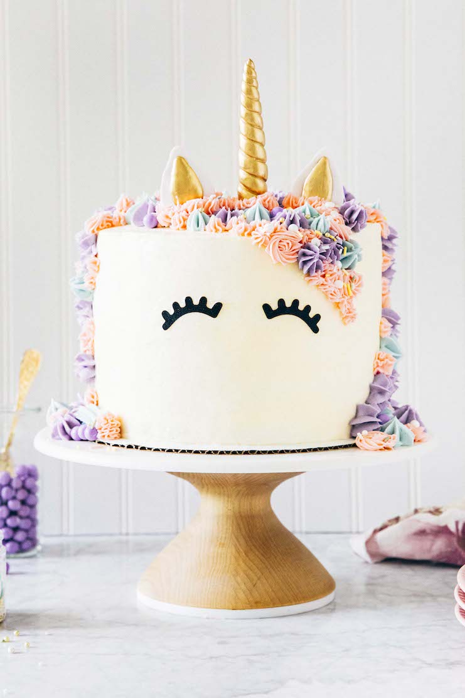 How To Draw A Unicorn Cake : unicorn, Rainbow, Unicorn, Hummingbird