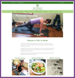 TMC to Health, a Website Designed by Hummingbird Marketing Services