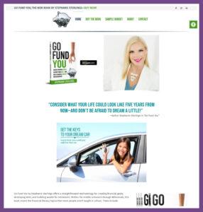 Go Fund You, a Website Designed by Hummingbird Marketing Services