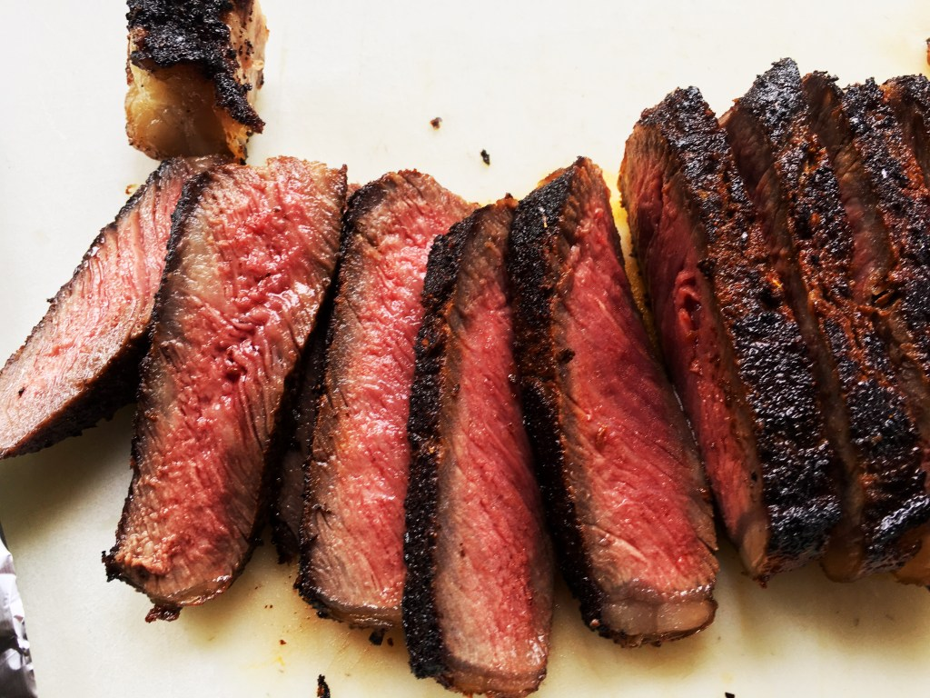 Coffee-Rubbed NY Strip Steak featured
