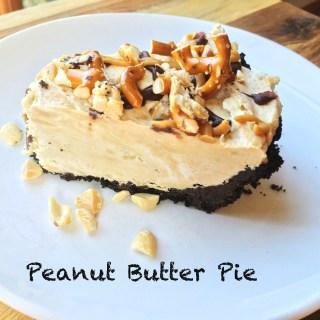 Peanut Butter Pie featured