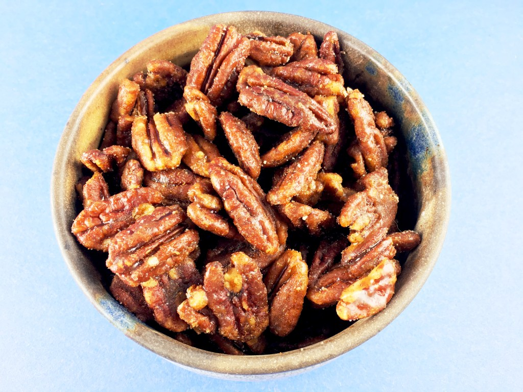 Sweet and Spicy Pecans 2