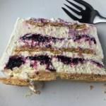Lemon-Blueberry Icebox Cake
