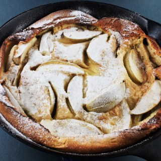 Apple Cardamom Brown Butter Dutch Baby