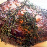 Roast Beef with Shallots from Martha Stewart