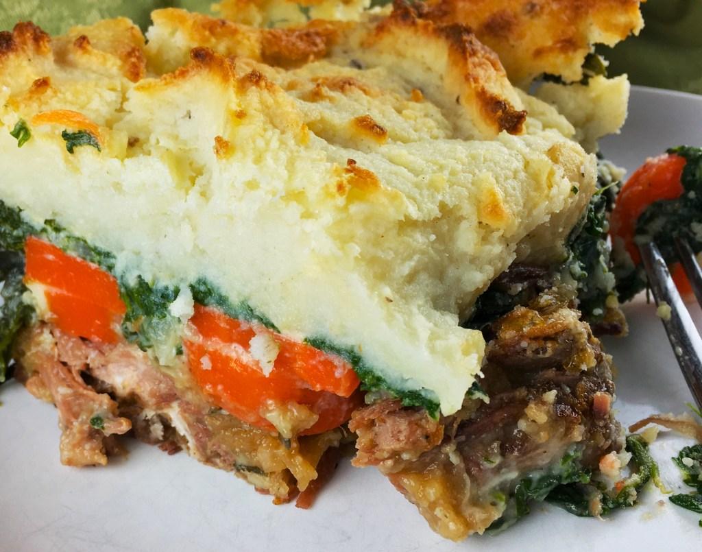 Braised Beef Shepherd's Pie
