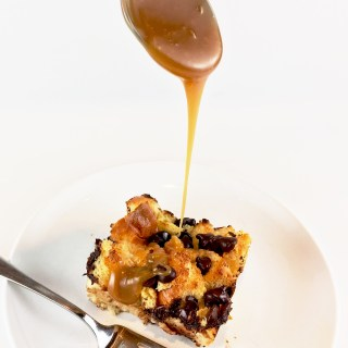 Easy Brioche Bread Pudding