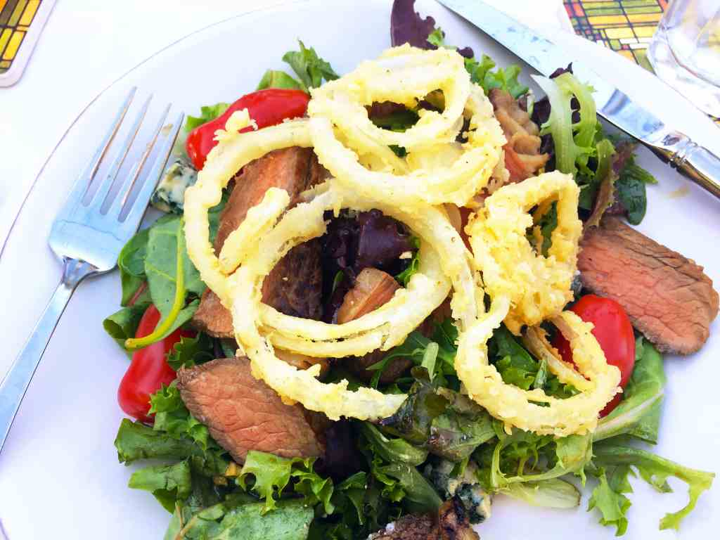 Big Steak Salad (from Ree Drummond)