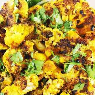 Grilled Spicy Cauliflower