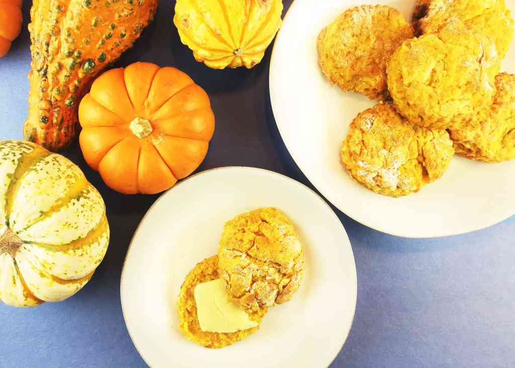 Easy Pumpkin Biscuits