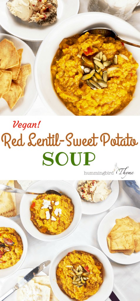 Red Lentil Sweet Potato Stew