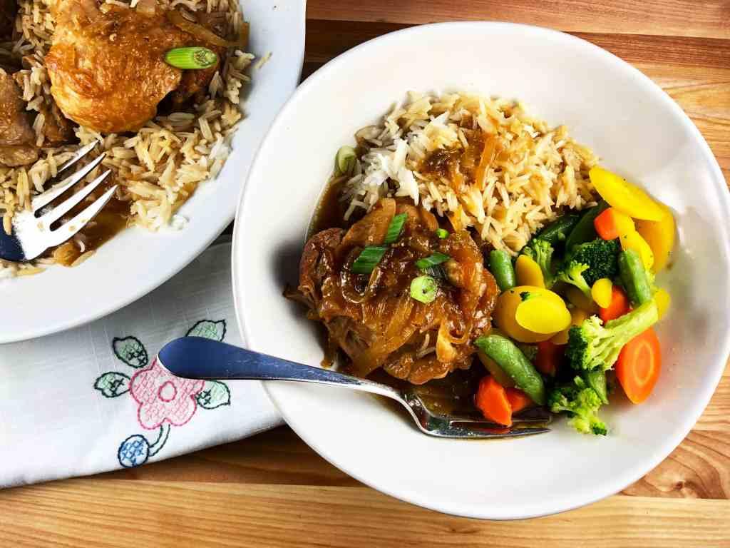 Chicken Adobo Instant Pot