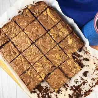 GF Dark Chocolate Tahini Brownies