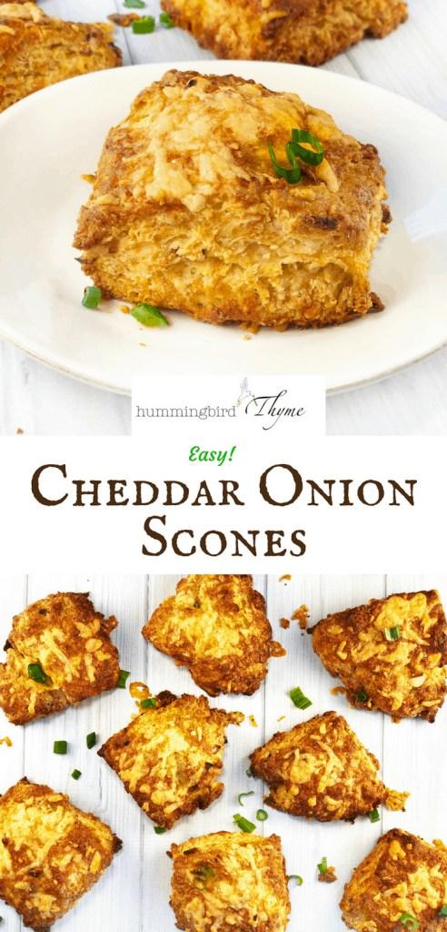Cheddar Onion Scones