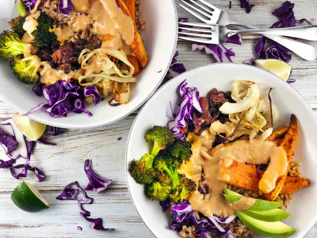 Vegan Bowl Lime Tahini Dressing