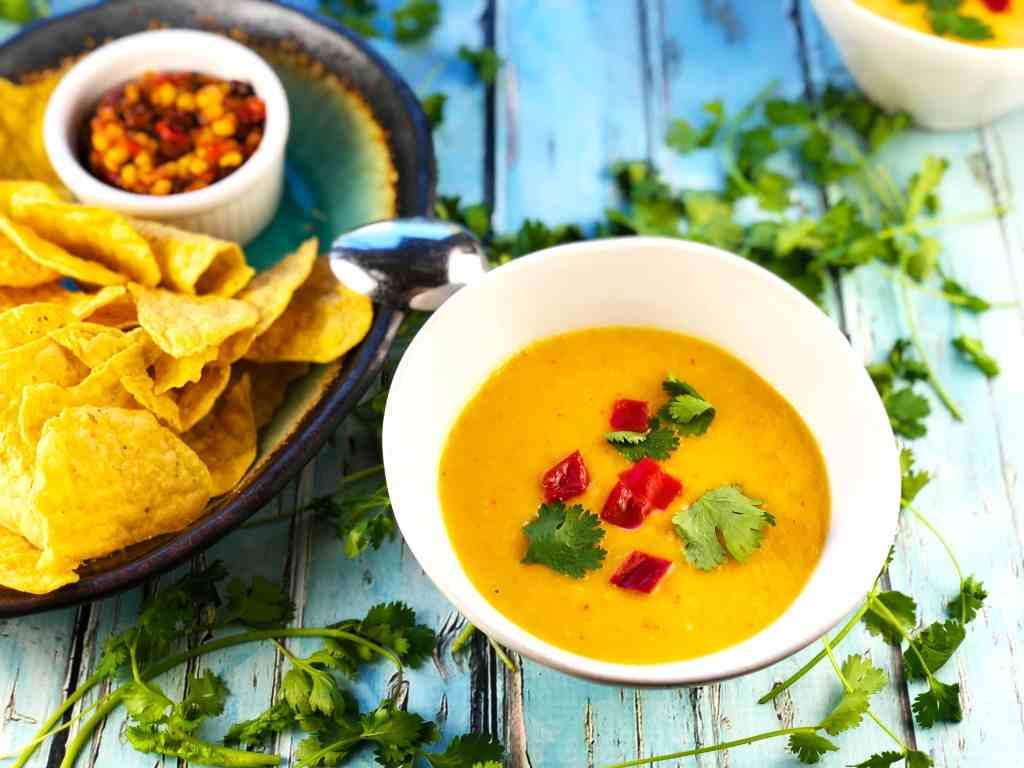 Easy Refreshing Mango Gazpacho