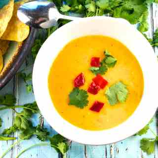 Easy Refreshing Mango Gazpacho