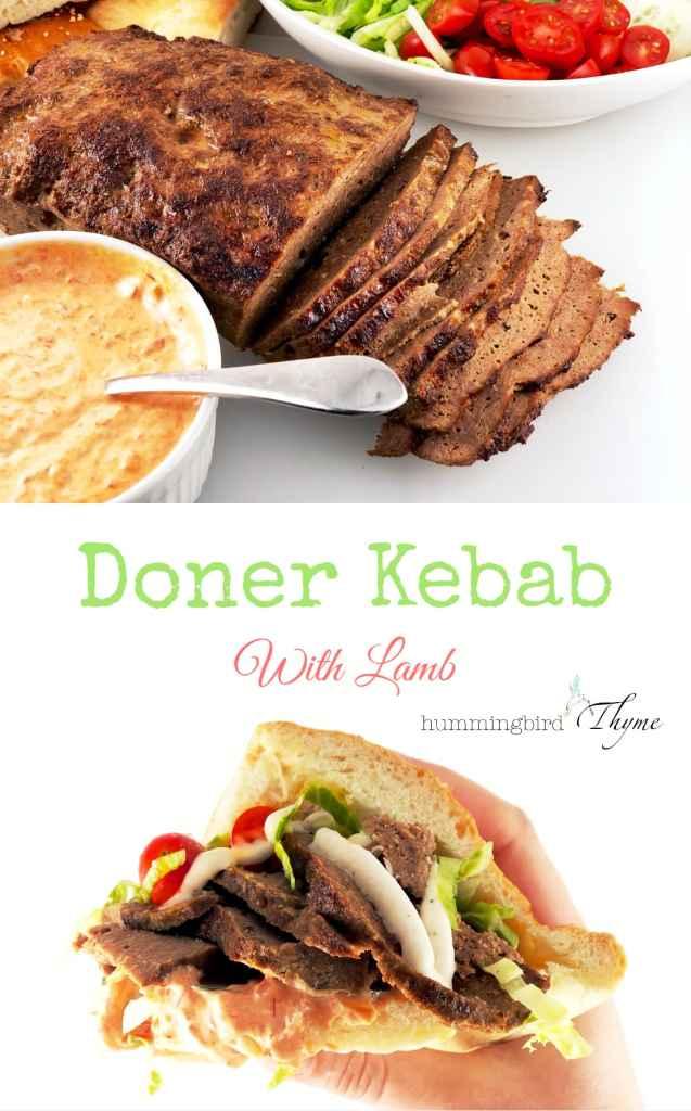 Doner Kebab with Lamb