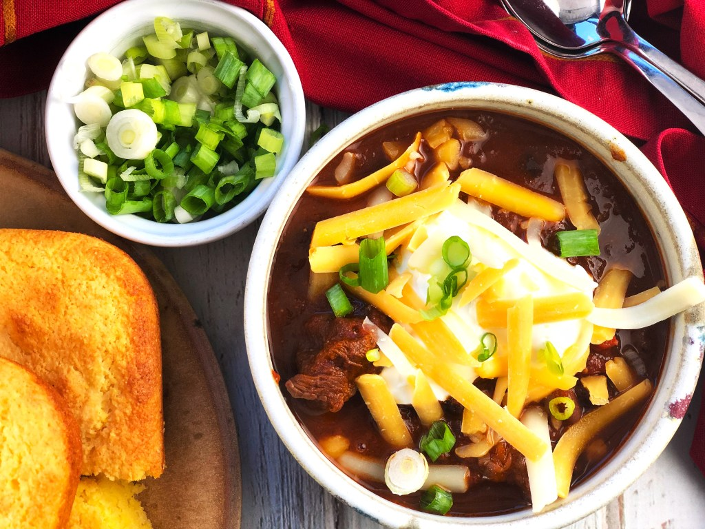 Spicy Ancho Beef Chili