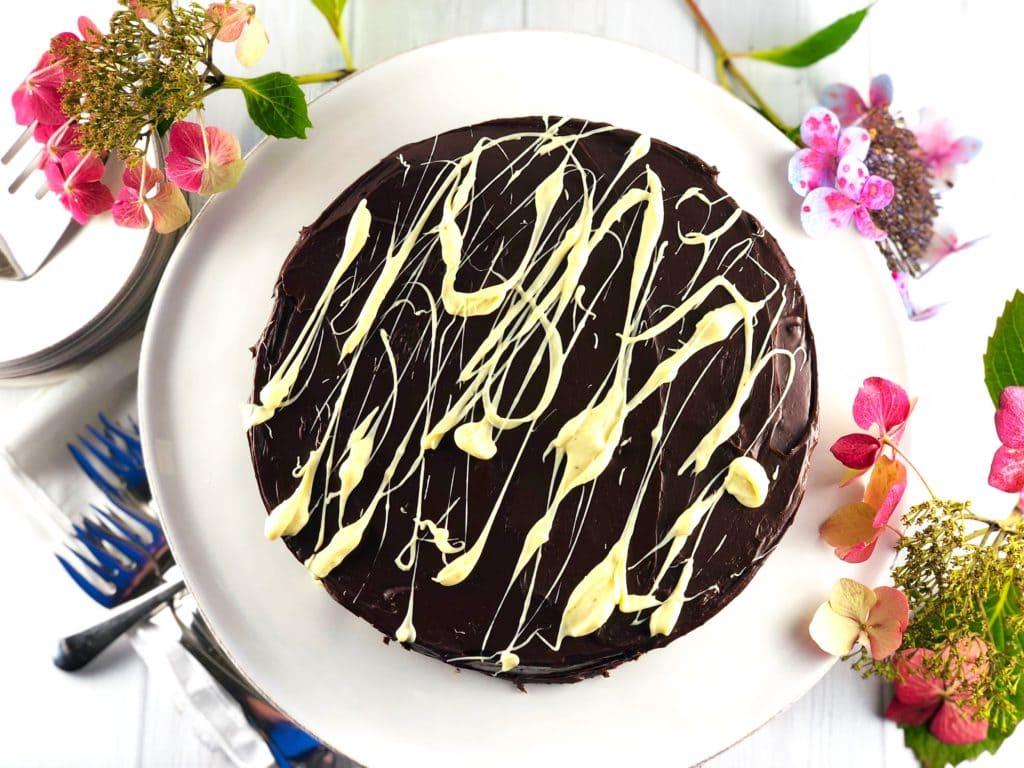 Queen Elizabeth's Chocolate Biscuit Cake