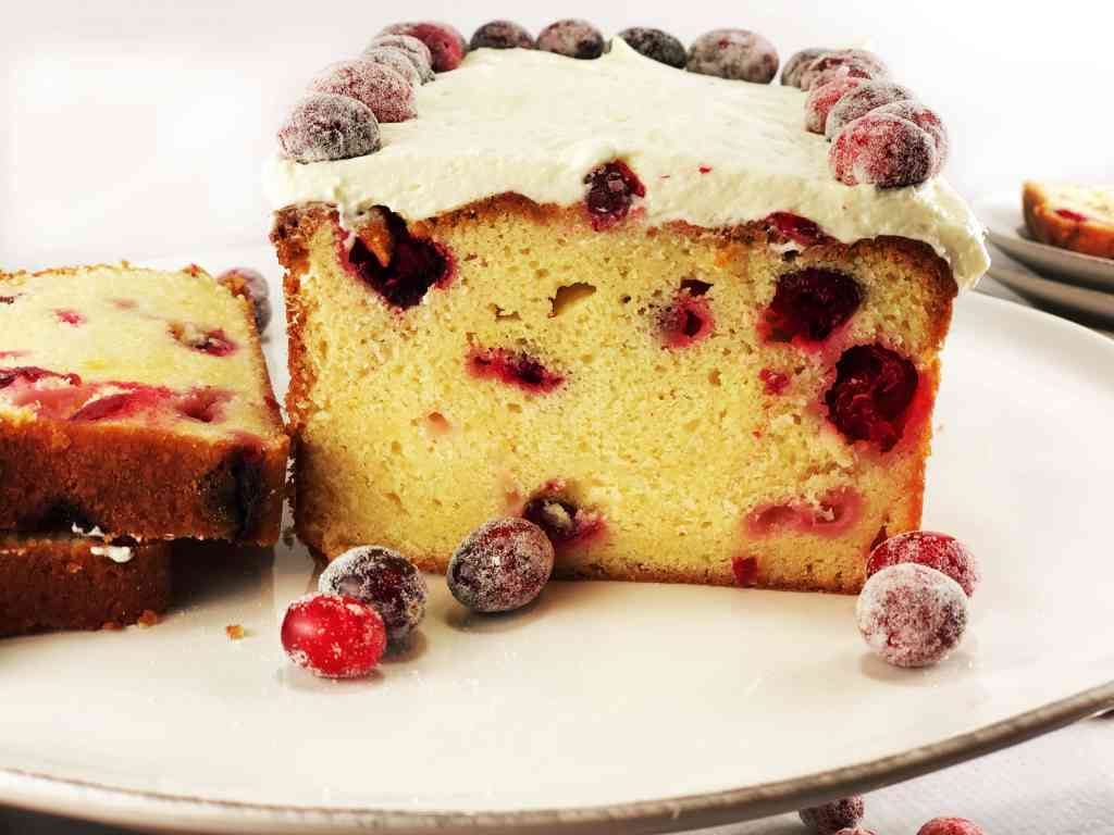 White Chocolate Cranberry Loaf