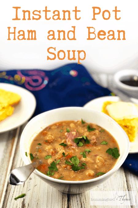 Ham and Bean Soup Instant Pot