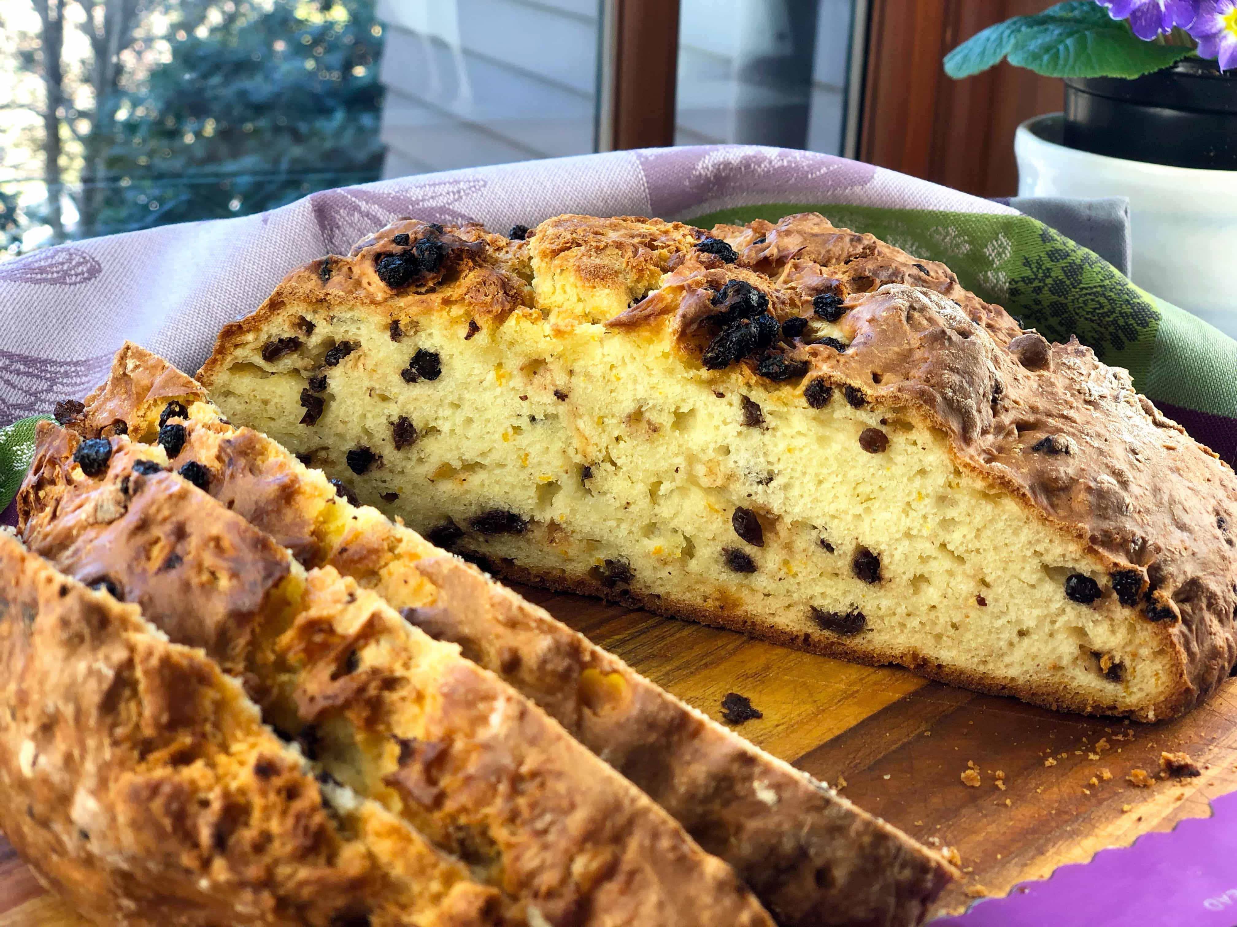 Irish Soda Bread Currants Orange