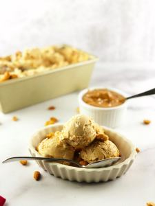Easy Peanut Butter Ice Cream