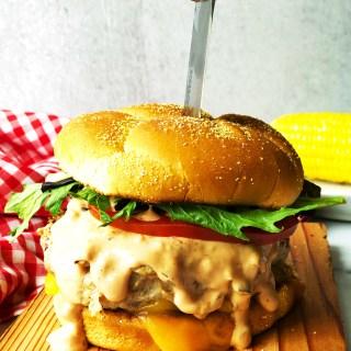 Turkey Burgers Special Sauce