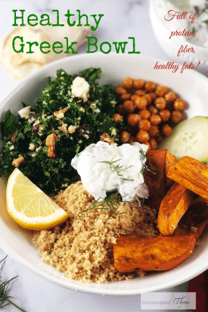 Healthy Greek Bowl