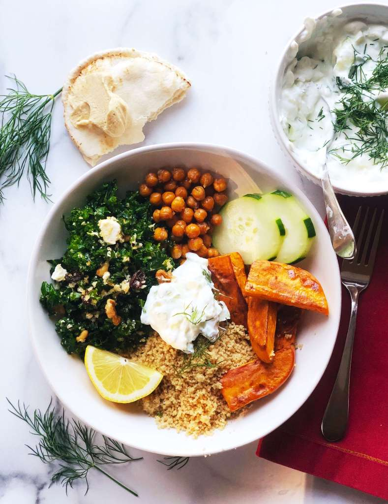 Easy Healthy Greek Bowl