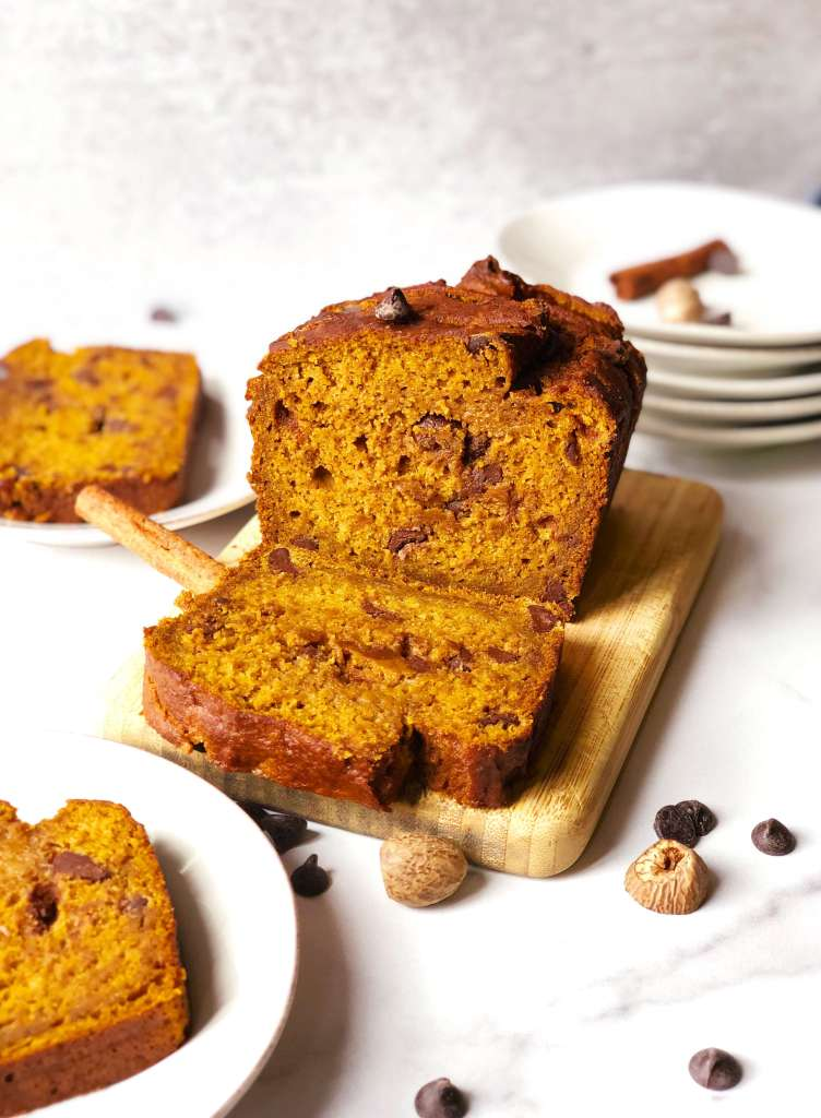 Pumpkin Chocoalte Chip Loaf