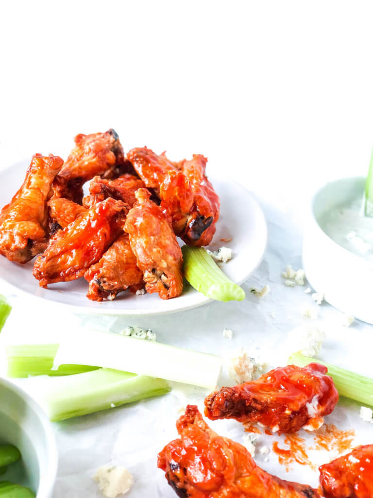 Crispy Homemade Chicken wings