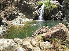 Swim under the Falls