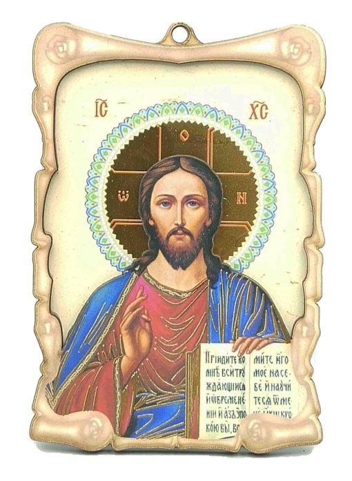 ΕΙΚΟΝΑ ΠΛΑΣΤΙΚΗ ΙΗΣΟΥΣ ΧΡΙΣΤΟΣ 14Χ9.5CM  10032-10