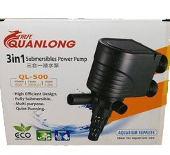 3 in 1 Submersible Power Pump QL-500 20226-16