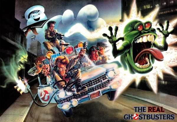 Real Ghostbusters Cartoon