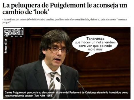 pelo puigdemont