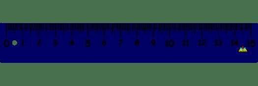 Regla de medir