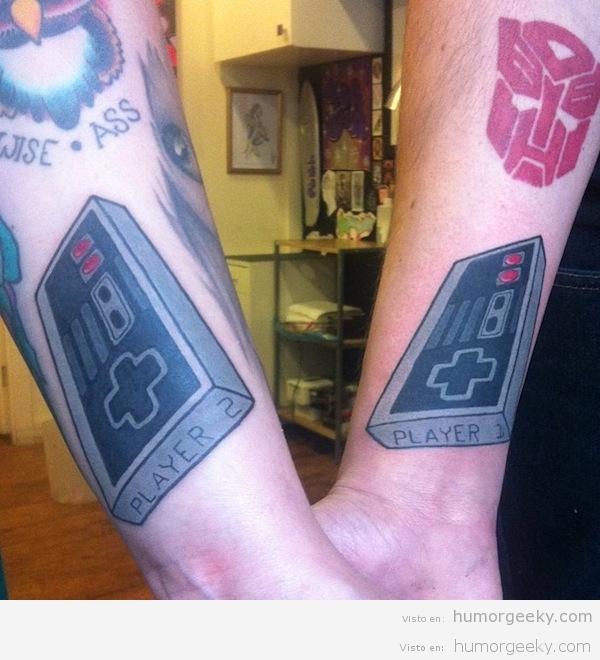 20 Tatuajes Para Gamers Que Son Auténticas Frikadas Humor Geeky