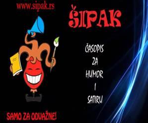 Dnes aktuálne sesterský časopis Šipak