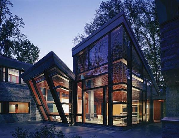 Glass House Architecture Design