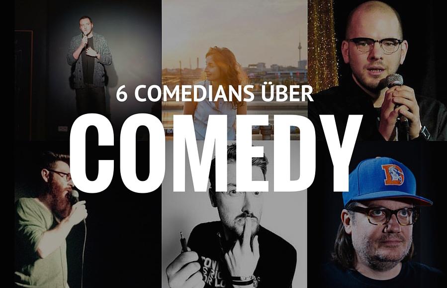 6 Comedians Titel