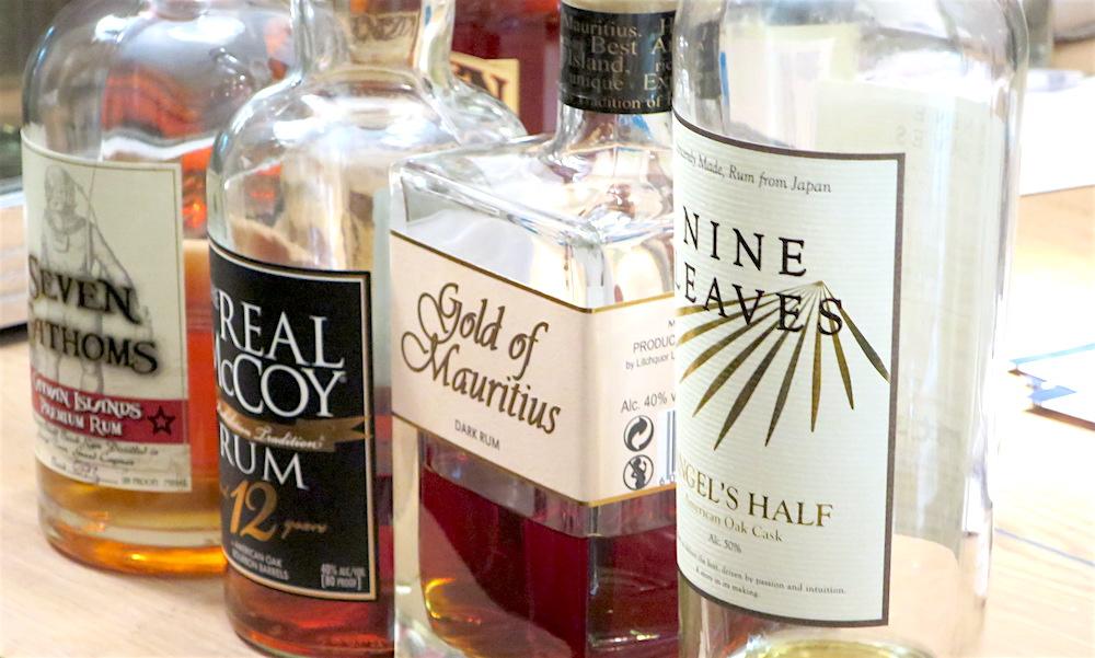 Das Rum-Käse-Szenario (Rum Tasting)