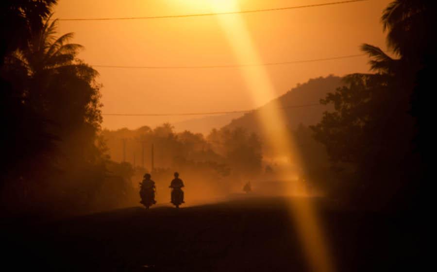 Kambodscha Motorad 1
