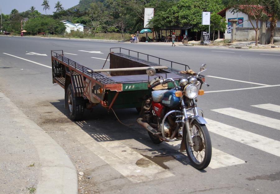 Kambodscha Motorrad 3